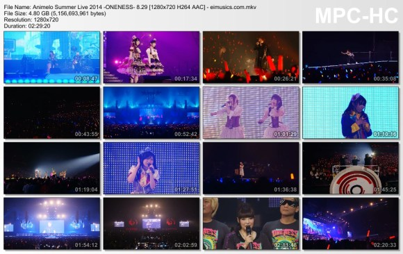 Download Animelo Summer Live 2014 -ONENESS- 8.29 [720p]   [Concert]
