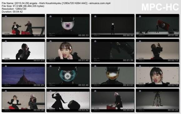 Download angela - Kishi Koushinkyoku [720p]   [PV]