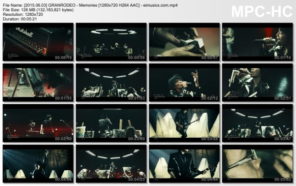 Download GRANRODEO - Memories [720p]   [PV]