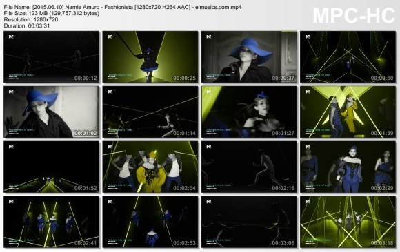 Download Namie Amuro - Fashionista [720p]   [PV]