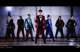 Download w-inds. - In Love With The Music [1280x720 H264 AAC] [PV]