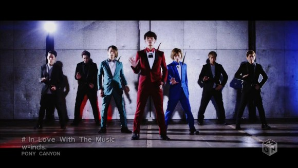 Download w-inds. - In Love With The Music [720p]   [PV]