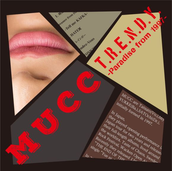 MUCC - T.R.E.N.D.Y. Paradise from 1997