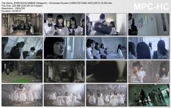 [EIMUSICS] NMB48 (Akagumi) - Omowase Kousen [720p]   [2013.10.02].mkv_thumbs_[2015.07.30_03.21.04]