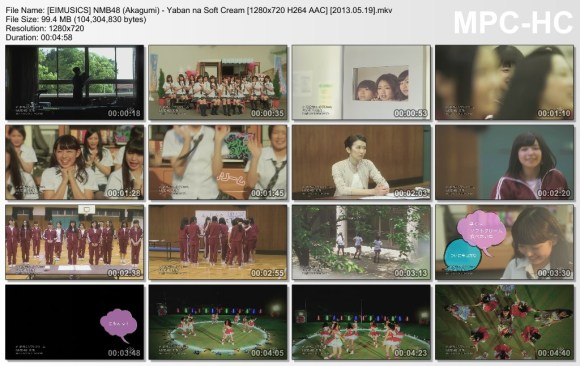 [EIMUSICS] NMB48 (Akagumi) - Yaban na Soft Cream [720p]   [2013.05.19].mkv_thumbs_[2015.07.30_03.24.03]