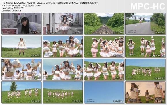 [EIMUSICS] NMB48 - Mousou Girlfriend [720p]   [2012.08.08].mkv_thumbs_[2015.07.30_03.07.52]