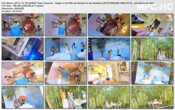 [2014.10.18] AKB48 Team Surprise - Saigo ni Ice Milk wo Nonda no wa Itsudarou (DVD) [480p]  - eimusics.com.mkv_thumbs_[2015.08.13_04.38.44]