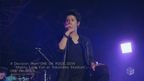 "[2015.04.29] ONE OK ROCK - Decision from 「ONE OK ROCK 2014 ""Mighty Long Fall at Yokohama Stadium""」(M-ON!) [720p]   - eimusics.com.mkv_snapshot_00.54_[2015.09.25_15.23.44]"
