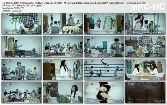 [2011.06.29] ASIAN KUNG-FU GENERATION - All right part2 feat. Hashimoto Eriko (SSTV) [720p]  - eimusics.com.mkv_thumbs_[2015.10.31_16.52.19]