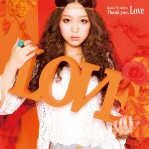[Album] Kana Nishino – Thank you, Love [Hi-Res/FLAC/ZIP][2011.06.22]