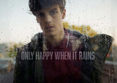 ONLY HAPPY WHEN IT RAINS by Heiko Laschitzki