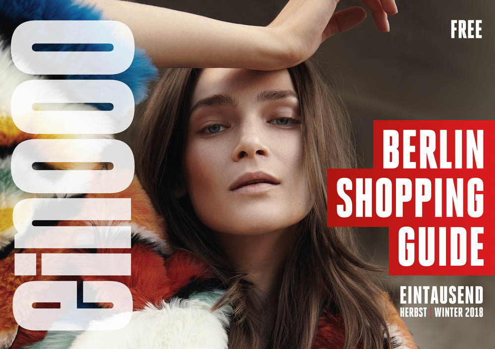 ein000 Eintausend Berlin Shopping Guide HerbstWinter 2016