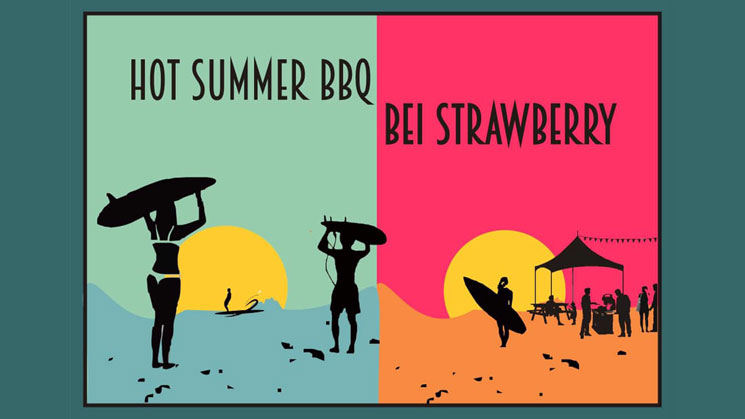 HOT SUMMER BARBECUE BEI STRAWBERRY BERLIN