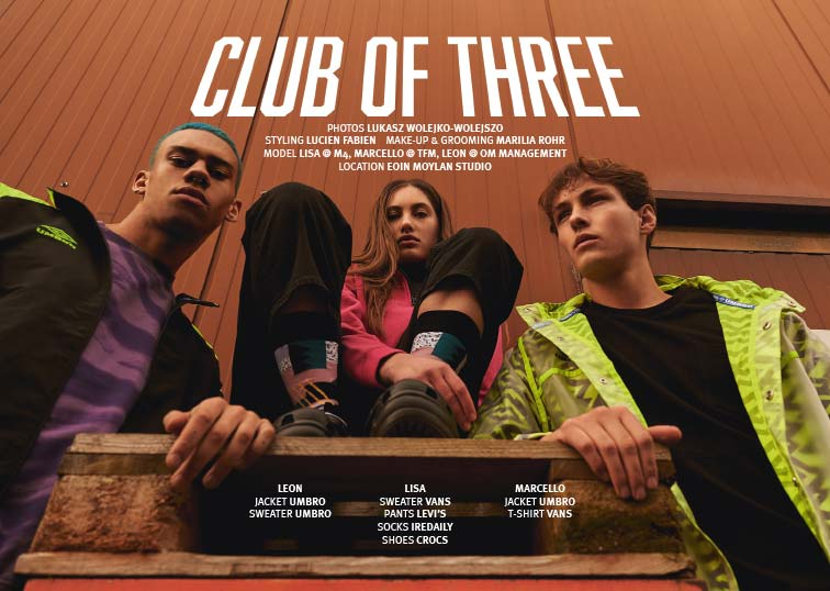 CLUB OF THREE BY Lukasz Wolejko-Wolejszo - ein000 - eintausend Berlin Shopping Guide