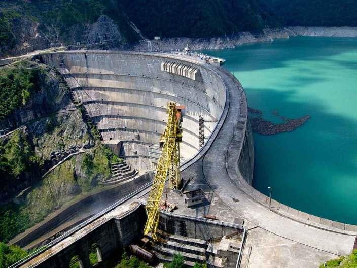 سد إينغوري للطاقة الكهرومائية