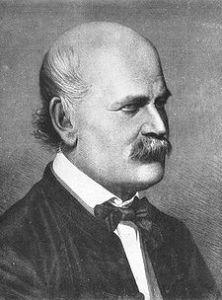 Ignaz Semmelweis, 1860 (kobberstikk, hentet fra Wikipedia)