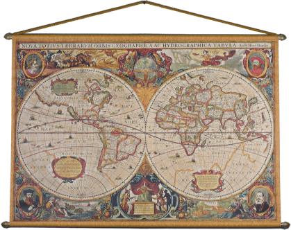 Henricus Hondius og Jan Janssons verdenskart 1629