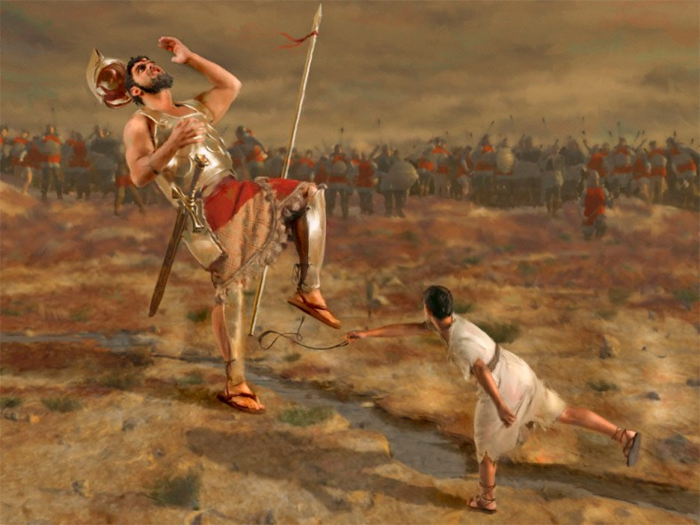 David mot Goliat