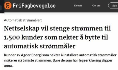 Agder Energi FriFagbev 16.01.2020