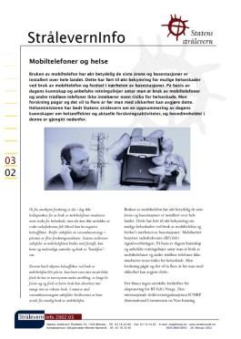 Stråleverninfo 03 02