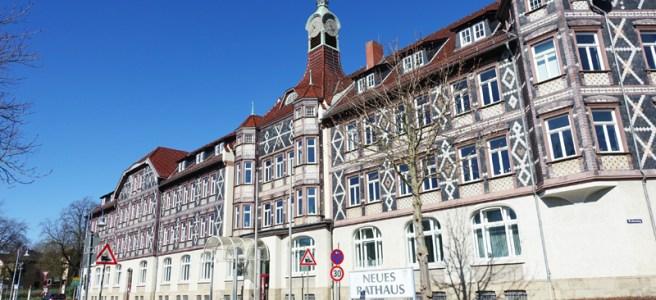 Neues Rathaus in Einbeck. Foto: Frank Bertram
