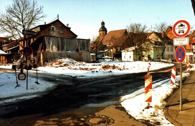 Das Areal am Petersilienwasser im Februar 1996. Archiv-Foto: Frank Bertram