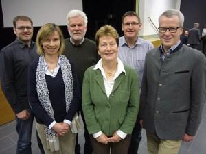 Sascha Voges, Dr. Susanne Bohne, Erhard Wünsche, Heidrun Niedenführ, Udo Mattern, Georg Folttmann.