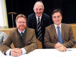 Dr. Bernd von Garmissen, Joachim Stünkel, David McAllister.