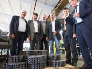 Dr. Wilhelm Priesmeier, Michael Wickmann, Klaus Wiesehügel, Achim Wenzig, Hans-Jürgen Kreipe, Oliver Hagenbuck.