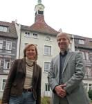 Das neue Führungsduo im Einbecker Rathaus: Sabine Michalek und Florian Schröder.
