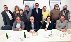 Der Vorstand des Bündnisses für Familie nach der Mitgliederversammlung 2013. Archivfoto