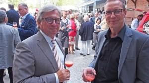 Unter den 600 Gästen: Unternehmer Dr. Gisbert Vogt (Bad Gandersheim) und der CDU-Bundestagsabgeordnete Dr. Roy Kühne (Northeim).