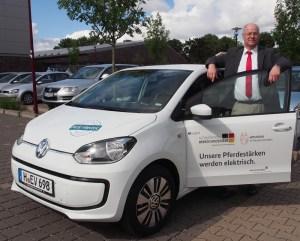 Peter Traupe will Elektromobilität sichtbar machen.