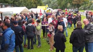 Hunderte Besucher kamen zum Brückenfest.