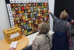 Textile Kunst bei den Patchworktagen 2014 in Einbeck. Archivfoto
