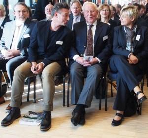 Francesco de Meo, Dr. Karl Schneider und Frauke Heiligenstadt.