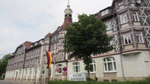 Neues Rathaus in Einbeck: Wo einst August Stukenbrok und Heidemann Fahrräder produzieren ließen: Seit 1996 arbeitet die Einbecker Stadtverwaltung im Neuen Rathaus am Ostertor. Archivfoto 2014.