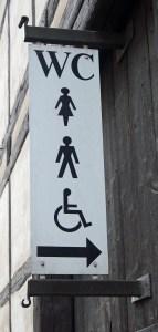 Toilettenanlage.