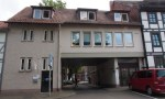 Zugang zum Parkhaus vom Neustädter Kirchplatz aus.