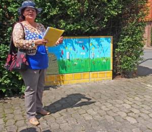 Ortsbürgermeisterin Eunice Schenitzki (SPD).