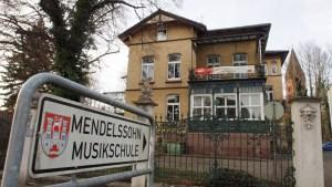 Mendelssohn-Musikschule in der ehemaligen Stukenbrok-Villa.
