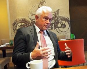 Wolfgang Kubicki (FDP) in Einbeck.