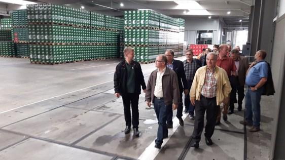 CDU in der Brauerei.