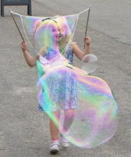 Reuze-zeepbellen maken