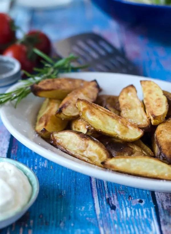 Knusprige Potato-Wedges aus dem Ofen