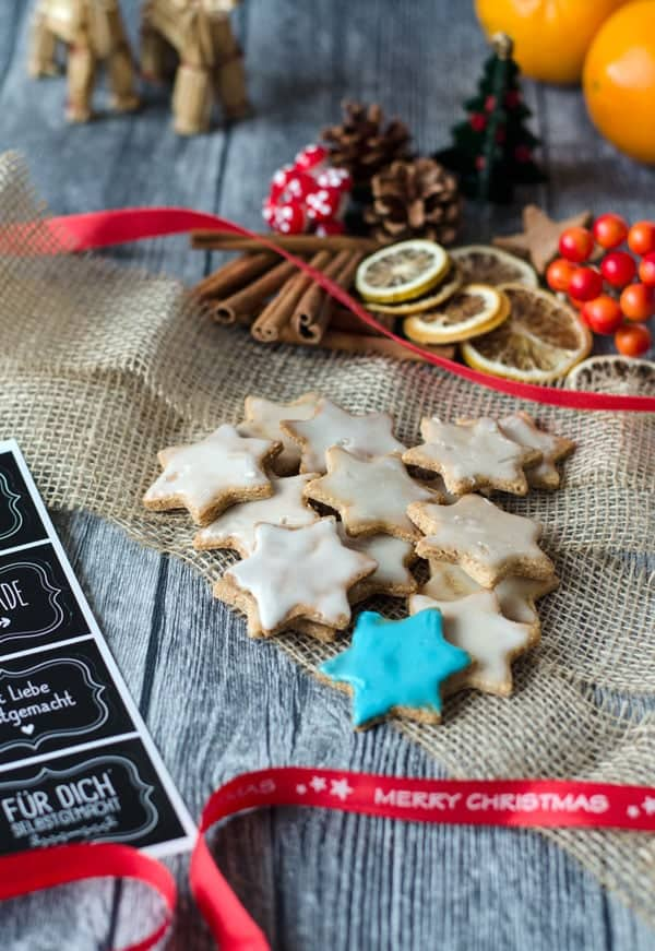 Leckere Mandelsterne, ganz ohne Mehl gemacht. Delicious flourless almond stars. Recipe also in english!