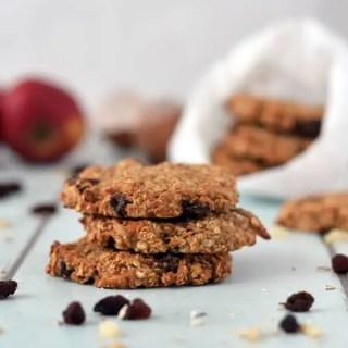Frühstückskekse mit Apfel und Zimt- Breakfast-Cookies