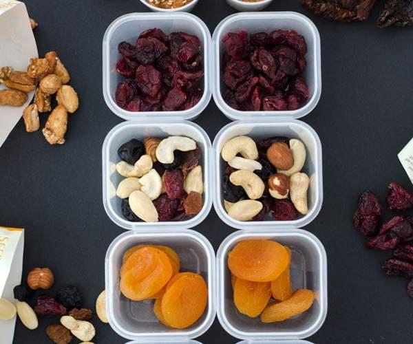 Meal Prep: Oatmeal-Pudding und Einhundert-Kalorien Snackboxen