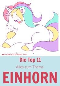 Einhorn Rezepte, Einhorn DIY, Einhorn Party, ...