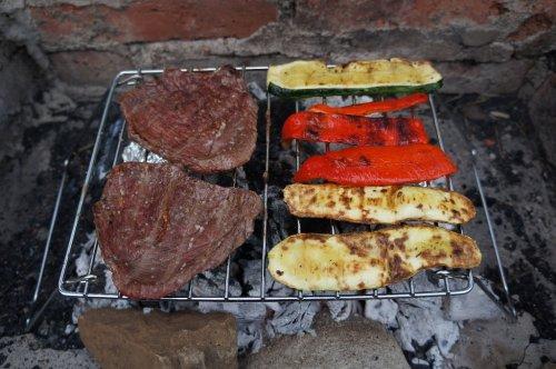 Grill Fleisch